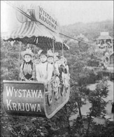 Канатна дорога в Стрийському парку. Фото 1894 року