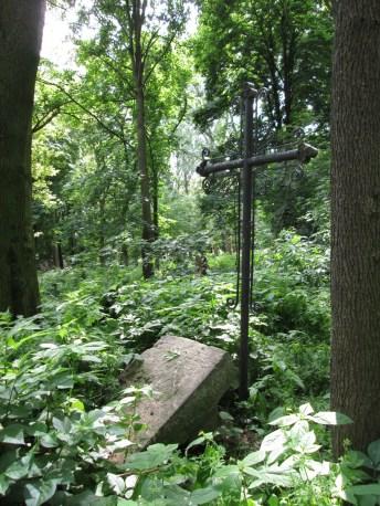 Старий німецький цвинтар у Винниках (тепер парк на вул. Сахарова) . Фото: Патер Анастасія