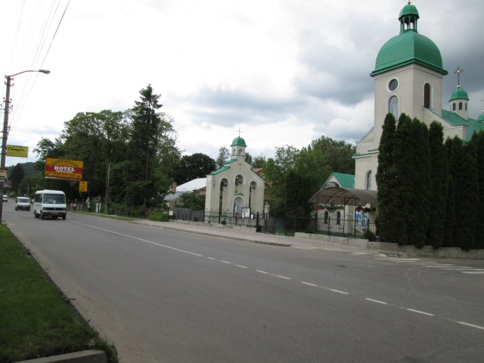 Вулиця Галицька – центральна вулиця Вайнберґену. Фото: Патер Анастасії