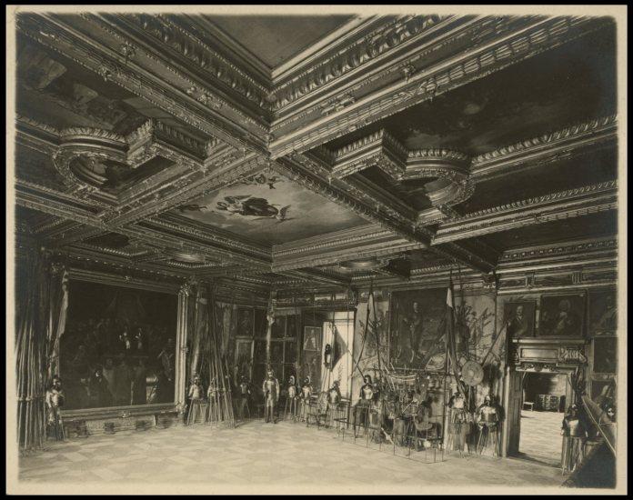 Столова Зала Підгорецького замку. Фото 1909 року
