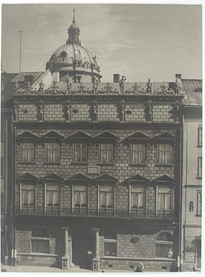 Королівська кам'яниця, Львів, 1938, фото Романа Весоловського