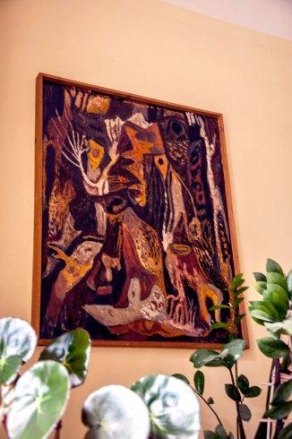 Картина Карла Звіринського, з домашньої колекції Л. Крушельницької. Фото Мирослава Ляхович