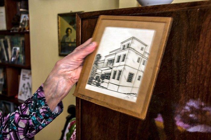 Малюнок будинку Крушельницьких на Кв'ятківці. Фото Мирослава Ляхович