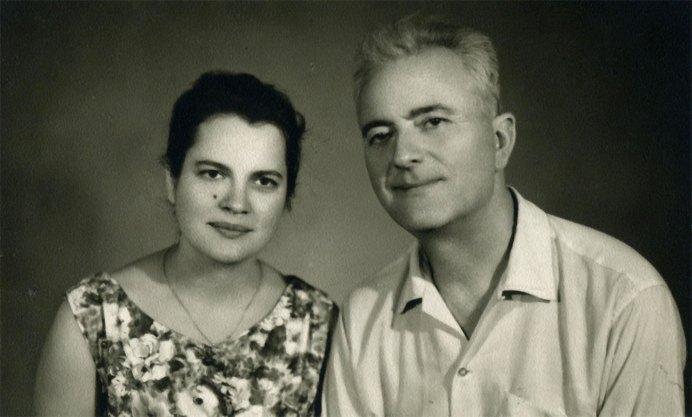 Анатолій Кос-Анатольський з дружиною Надією Кос