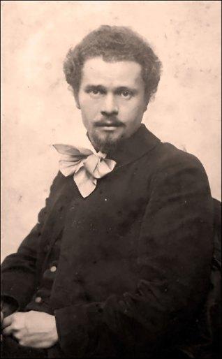 Іван Труш в роки навчання в Краківській академії.