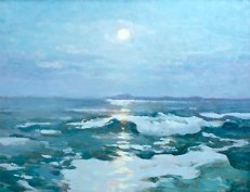 Іван Труш «Місячна ніч над морем»