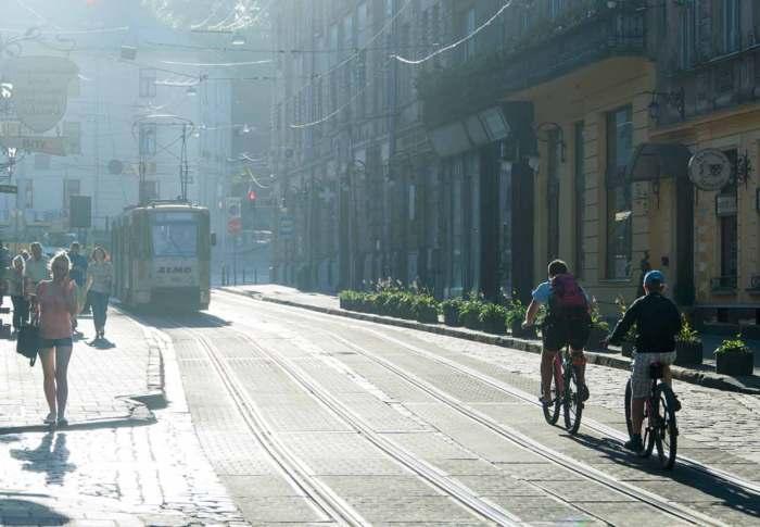 Вигляд вулиці Руської у наш час. Фото: Ксенія Янко