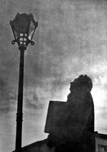 Роман Мирович. Ґротеска, кін. 1930-х рр. (Світло й Тінь. – 1939. – Ч. 3)