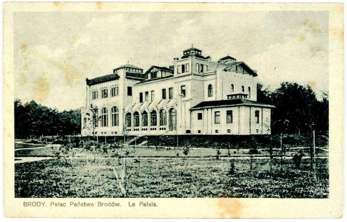 Палац бродівського панства, 1930 рік