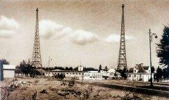 Фото будівлі радіостанції після модернізації. 1930-ті роки