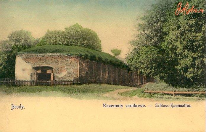 Замкові каземати, 1910 рік