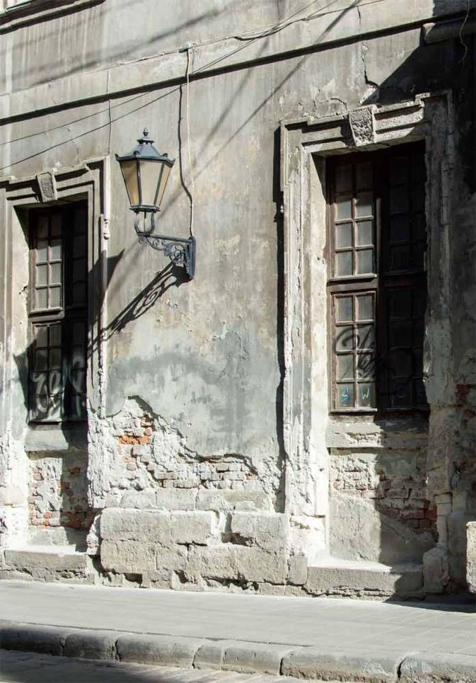 Фрагмент будівлі на вулиці Руській. Фото:Ксенія Янко