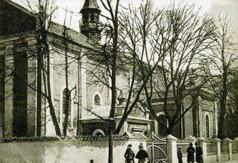 Костел Воздвиження Хреста Господнього, 1930 рік
