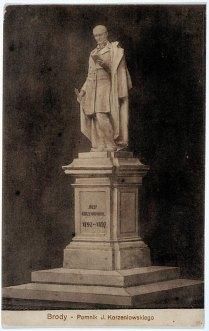 Пам'ятник польському письменнику Юзефу Коженевскому, початок ХХ ст.