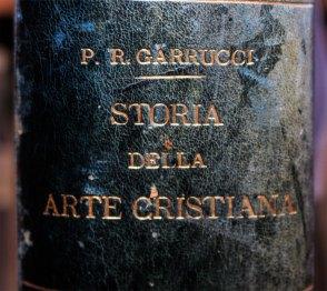 """Рідкісне видання """"Storia della Arte Cristiana nei primi otto secoli della chiesa. Prato."""""""