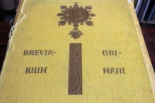"""Рідкісне видання """"Der Breviarum Grimani in der Bibliothek von Marco in Venedig"""""""
