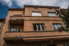 Будинок № 44 на вул. Котляревського, на світлині добре видно еркер будинку,фото М. Ляхович