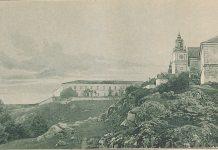 Монастир в Підкамені. Фото 1892 року