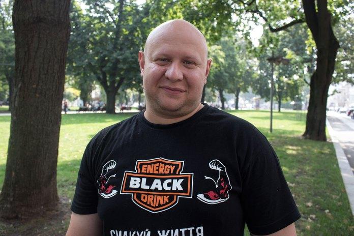 "Рекордсмен Олег Скавиш ""Тягнизуб"""