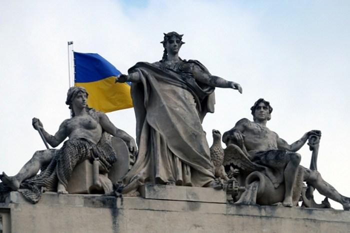 Скульптура Галичини. Поряд Дністер та Вісла
