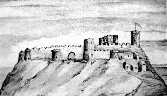Високий замок у Львові середини ХVІІІ ст
