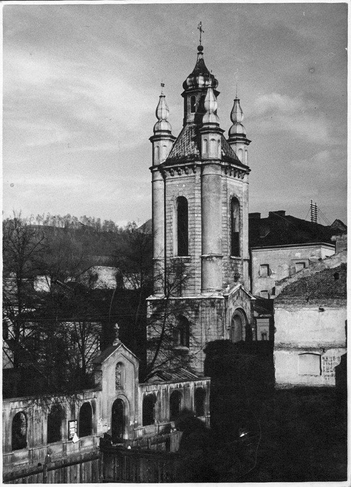 Дзвіниця Вірменської церкви, 1925 рік