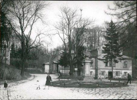 Будинок Куркового товариства на вул. Лисенка №23а, фото поч. ХХ ст.