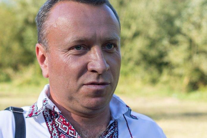 Cелищний голова Поморян Володимир Бас. Фото Роман Метельський