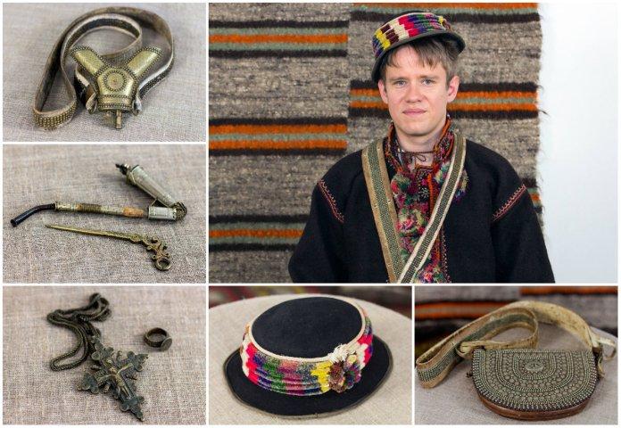 Гуцульське чоловіче вбрання Косівського р-ну 100 років тому