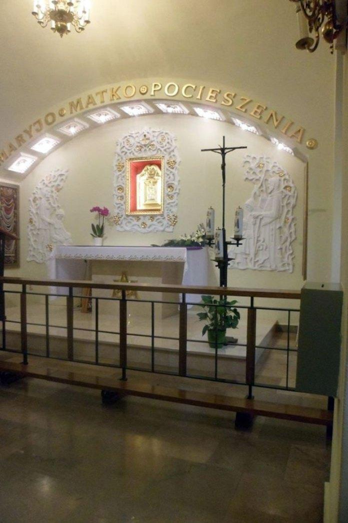 Ікона Матері Божої Годовицької у костелі Св. Августина у Вроцлаві
