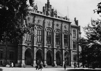 Ягеллонський університет, Краків, ймовірно поч. ХХ ст. (зі сайту http://stare-fotografie.flog.pl/wpis/2109655/krakow-uniwersytet-jagiellonski)