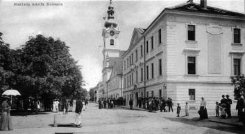 Площа Марії Терези, Беловар, Хорватія, 1900 р. (зі сайту https://www.kupindo.com)