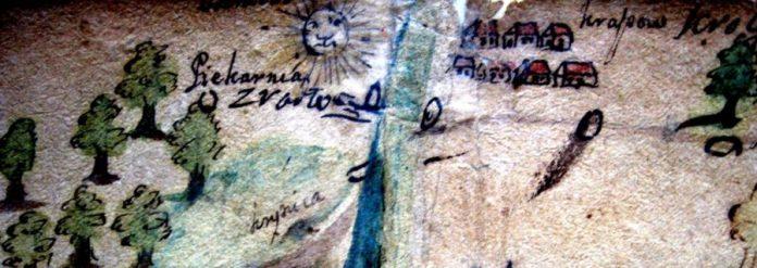 Фрагмент карти 1744 - 45рр.