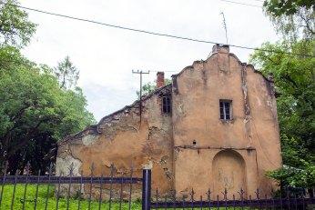 Господарча будівля біля Палацу архієпископів, 2016 р.