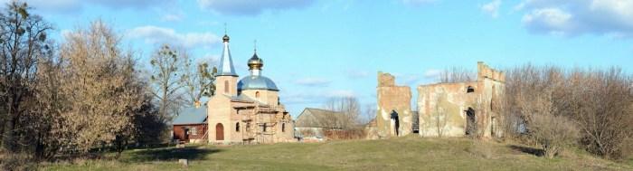Руїни маєтку родини Габріелі Запольської у Ківерцях