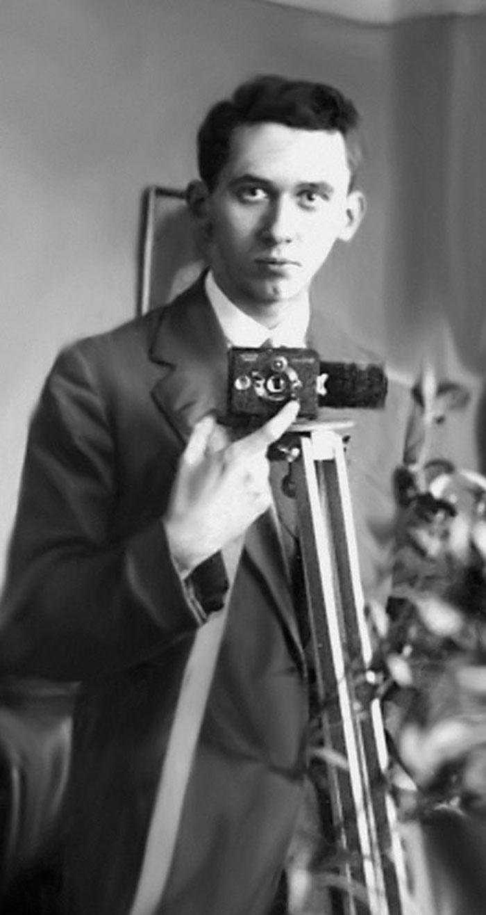 Юліан Дорош, друга половина 1920-х рр. (зі сайту http://esu.com.ua)