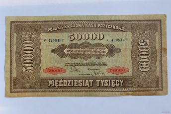50000 польських марок 1922 року