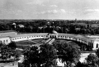 Павільйон «Підкова», 1957 рік