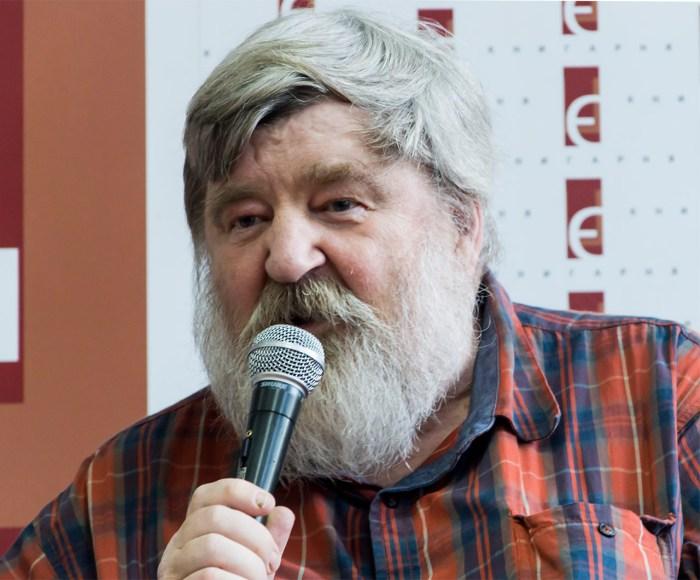 Письменник Петер Луденіус. Фото: Ксенія Янко