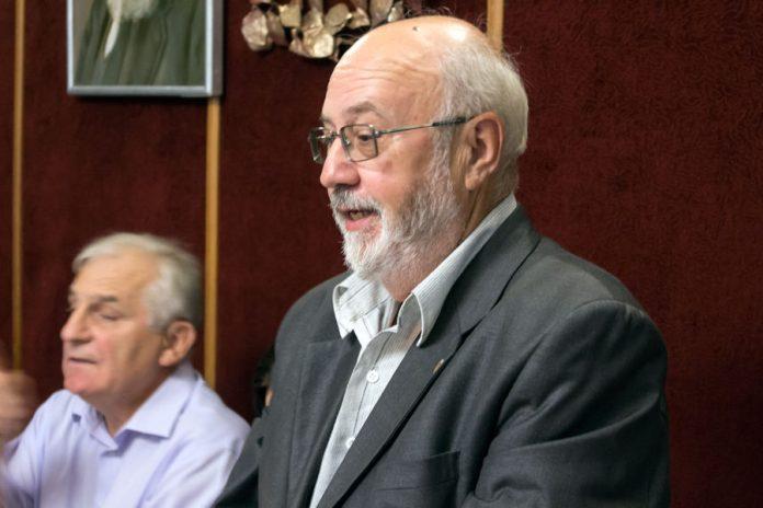 Директор Інститут археографії і джерелознавства НАН України Георгій Папакін, 2016 р.