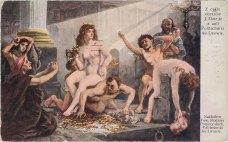 Одна з картин Яна Матейка «Алегорія Науки». Листівка 1910 року