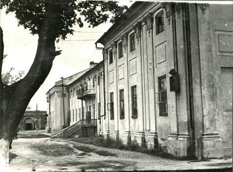 Палац Потоцьких в радянський період. Фото 1960 року