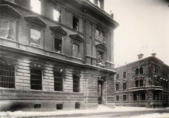 Головна пошта після пожежі. Фотографія 1918 року
