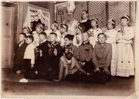 Вихованці брата Анзельма із школи ім. Св. Юзефа, 1931рік