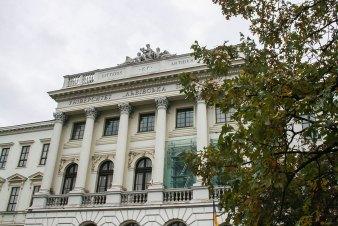 Головний корпус НУ «Львівська політехніка». Фото: Анастасія Нерознак