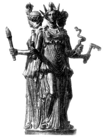Великая богиня Геката