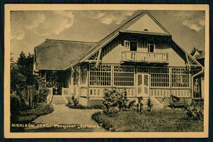 """Немирів. Пансіонат """"Софіївка"""". Фото 1935 року"""