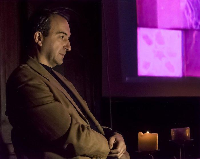 Доктор технічних наук, засновник Кіноклубу та сайту «Простір кіно», голова правління ГО «Європейський діалог» Олег Яськів. Фото: Ксенія Янко