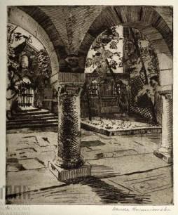 Ванда Коженьовська. Вірменська катедра, 1917 р.