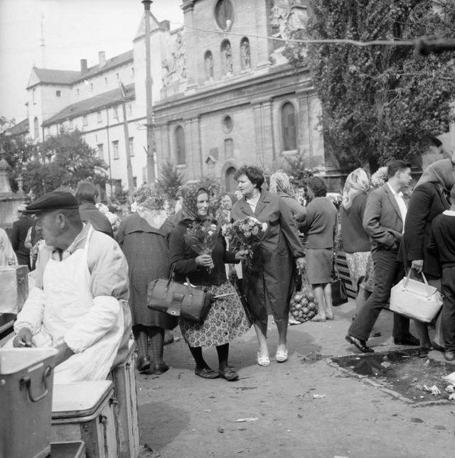 Львівські типажі. Світлина 1969 року